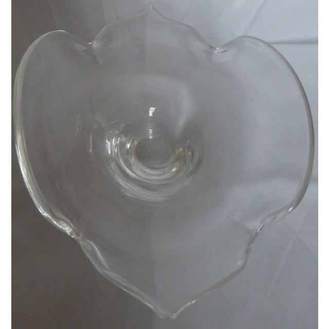 Signed Mid Century Steuben Glass Bowl - Image 3 of 5