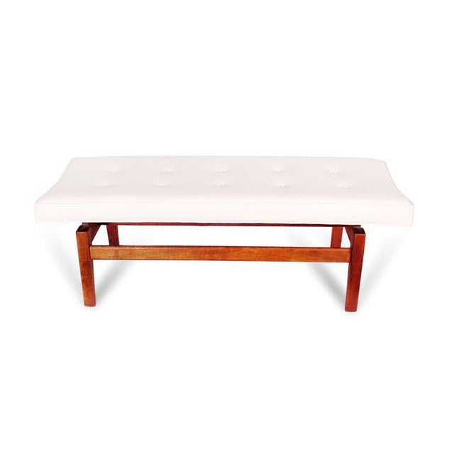 1950s Jens Risom Floating Bench, 1950s For Sale - Image 5 of 7