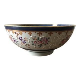 19th Century French Samson Porcelain Bowl For Sale