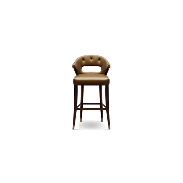 Nanook Counter Stool From Covet Paris For Sale - Image 4 of 4