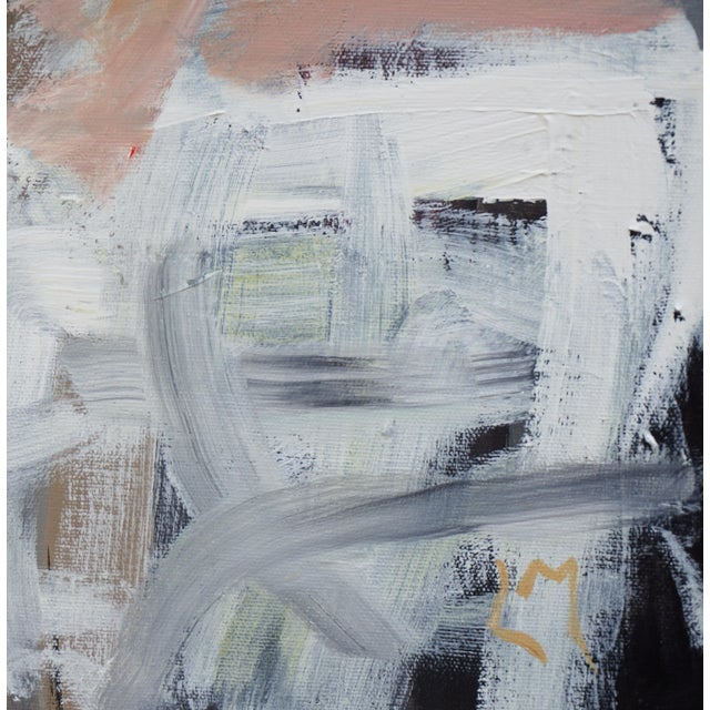 """Abstract Laurie MacMillan """"Opposites Attract"""" Painting For Sale In Los Angeles - Image 6 of 7"""