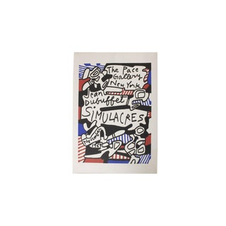 Jean DuBuffet Original Lithograph - Simulacres Pace Gallery New York