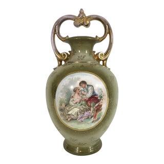 Antique Victoria Carlsbad Vase For Sale
