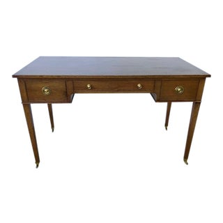 1960s Vintage Jansen Style Partners Desk For Sale