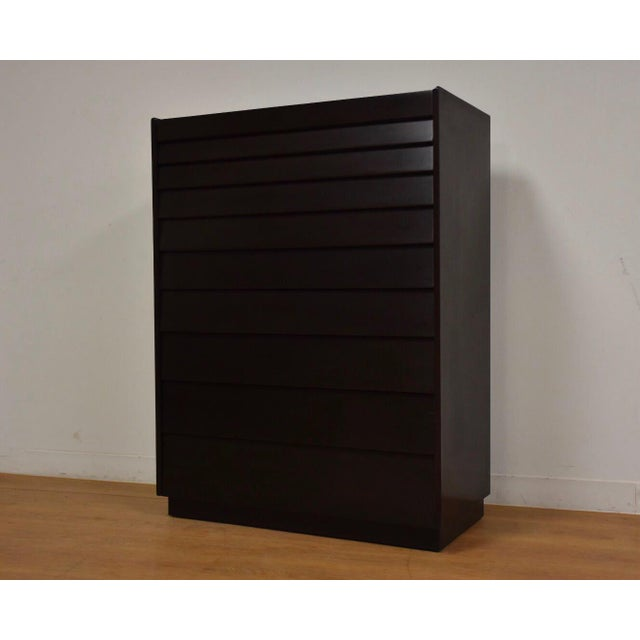 Edward Wormley for Dunbar Ebonized Dresser For Sale - Image 11 of 11