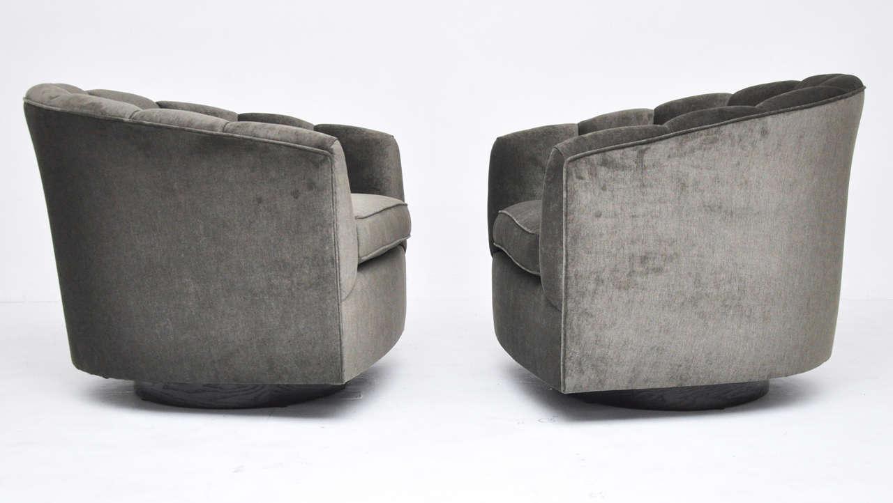 Mid Century Swivel Chairs   Image 3 Of 8