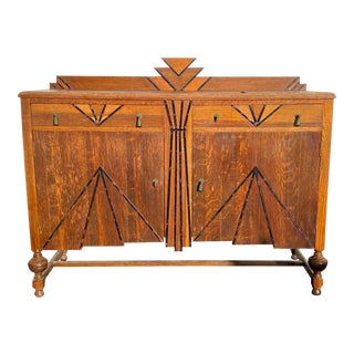 Vintage Art Deco Sideboard For Sale