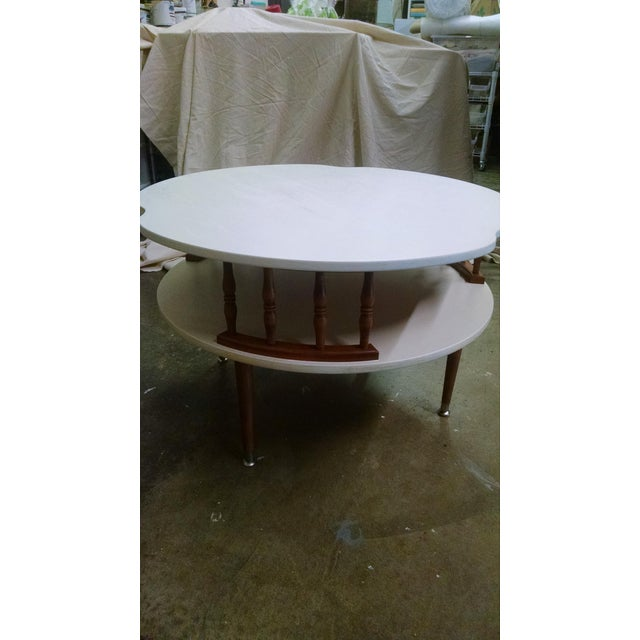 Ethan Allen Mid Century Modern Ethan Allen Coffee Table For Sale - Image 4 of 7