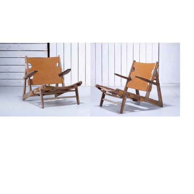 The design of these chairs was inspired by Børge Mogensen. Børge Mogensen designed the Hunting Chair in 1950. The Hunting...