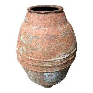 19th C. Mediterranean Terracotta Olive Oil Vessel