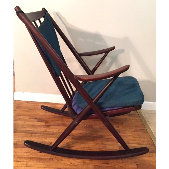 Bramin Mobler Frank Reenskaug Rocking Chair - Image 3 of 11