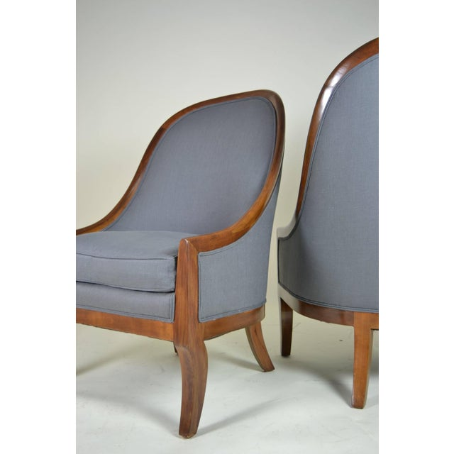 Spoon Back Chairs by Baker Furniture - Image 8 of 9