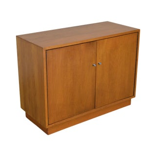 Mid Century Modern 2 Door Cabinet For Sale