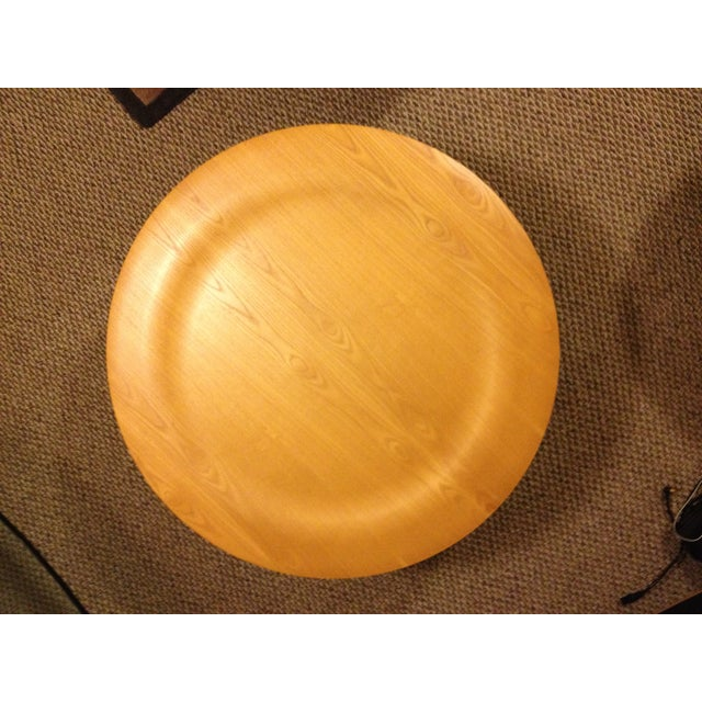 Charles Eames 1990s Mid-Century Modern Herman Miller Eames Plywood Coffee Table For Sale - Image 4 of 7