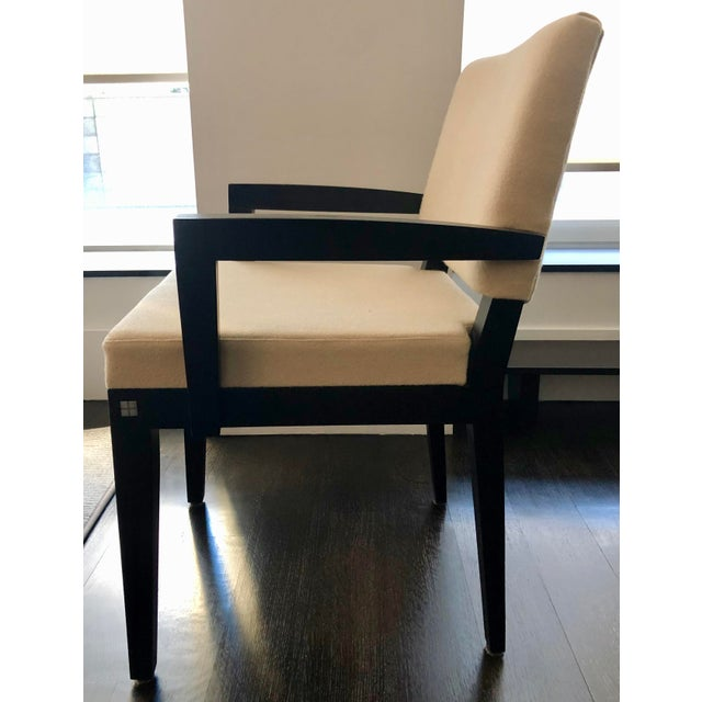 Contemporary Modern Desiron Dining Chairs - Set of 8 For Sale - Image 3 of 10