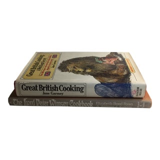 British Cooking Cookbooks - a Pair