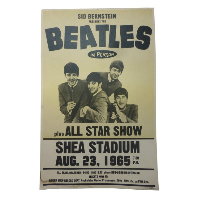 Reproduction Beatles Lobby Card Poster - Image 1 of 7