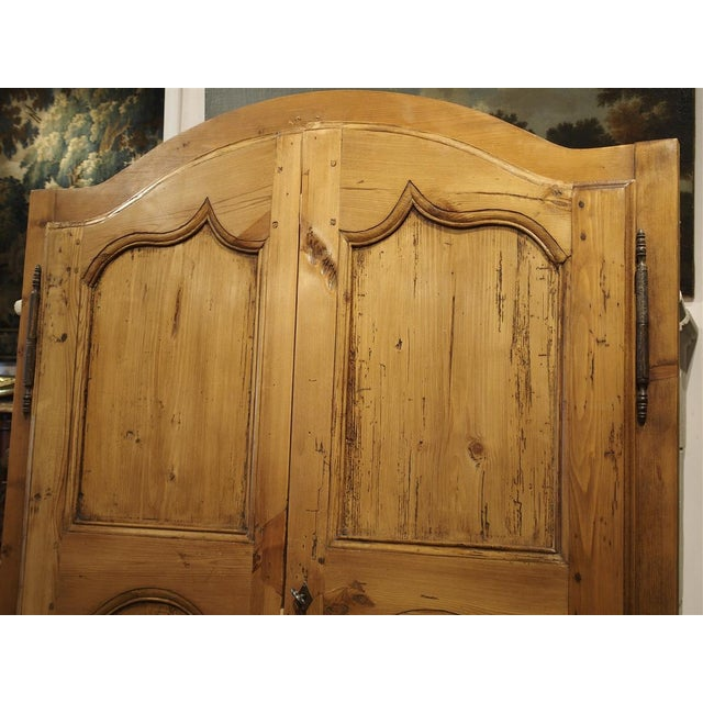Mid 19th Century Antique French Pine Cabinet Doors For Sale - Image 10 of 12