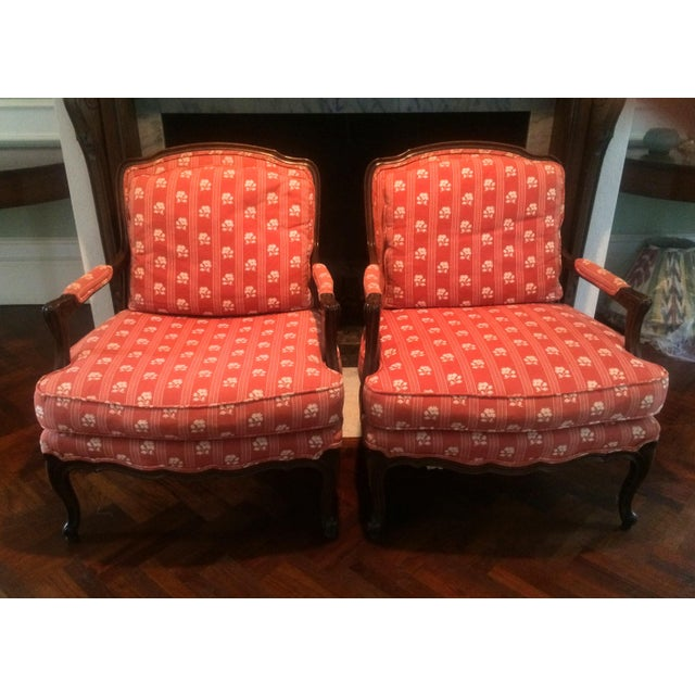 Baker Furniture Bergere Chairs - A Pair - Image 11 of 11