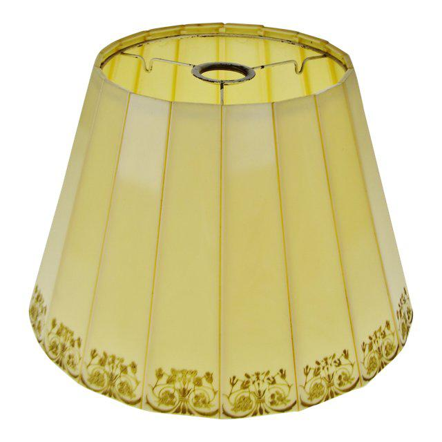 Mid Century Emeloid Lampshade For Sale - Image 11 of 13