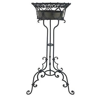 English Wrought Iron Plant Stand