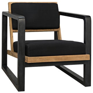 Mala Chair, Charcoal Black For Sale