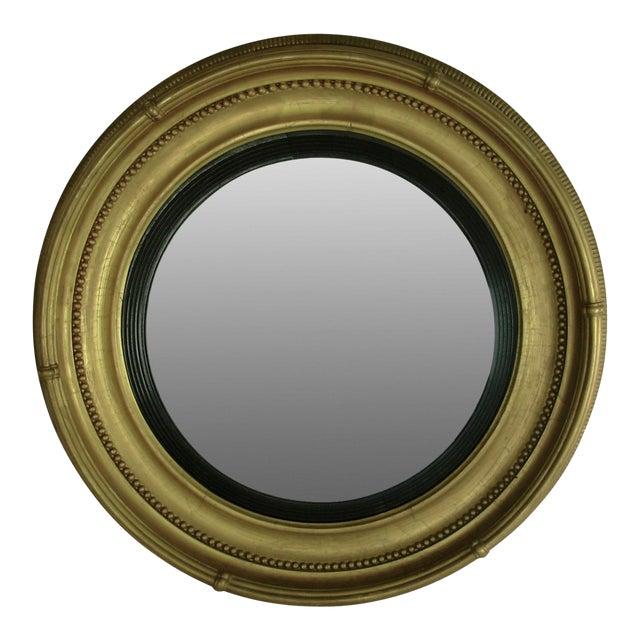 Regency Style Giltwood Convex Mirror - Image 1 of 8