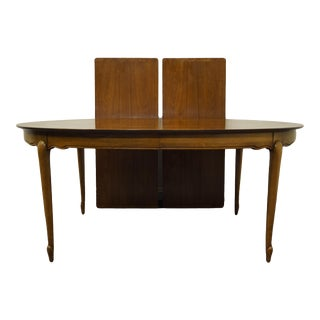 Mastercraft Furniture Italian Provincial Style Oval Dining Table For Sale