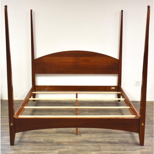Ethan Allen American Impressions Solid Cherry King Bed For Sale - Image 10 of 10