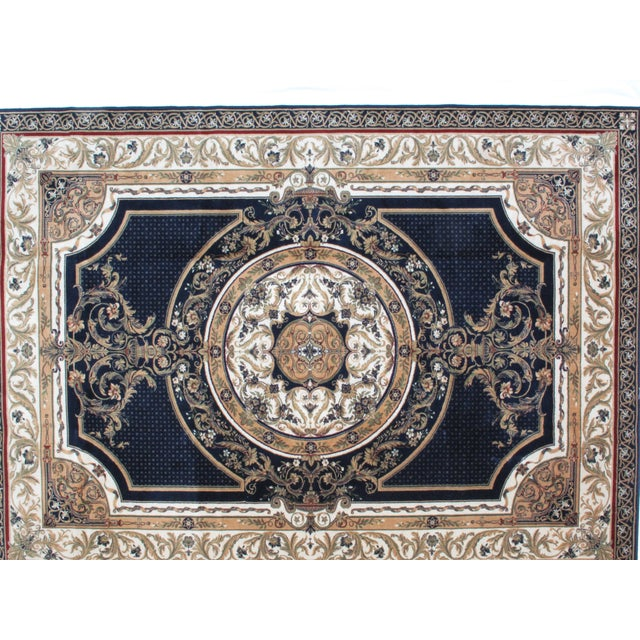 Savonnerie Style Wool Rug - 8′4″ × 11′6″ - Image 2 of 4