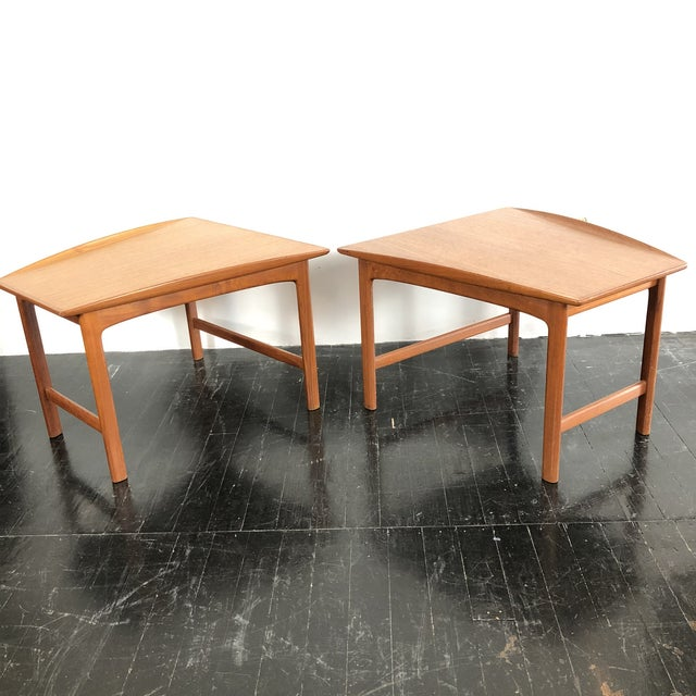 1960's Teak Frisco Designed by Folke Ohlsson Tables - a Pair For Sale In San Antonio - Image 6 of 13