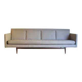 Custom Made Paul McCobb Sofa Recently Reupholstered For Sale