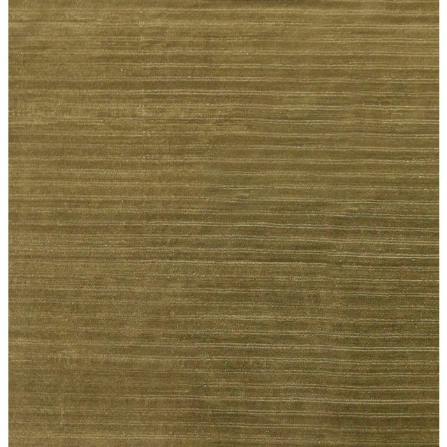 Contemporary Contemporary Wool Hand Knotted Olive Green Rug - 10' X 13' For Sale - Image 3 of 6