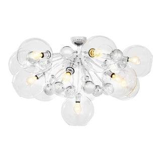 Silver 13-Bulb Flush Mount | Eichholtz Soleil For Sale