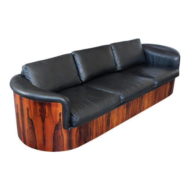 George Mulhauser for Plycraft Rosewood Case Sofa - Image 1 of 11