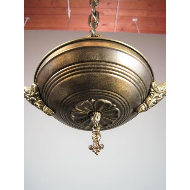Original Pan Light Fixture (2-Light) - Image 7 of 7