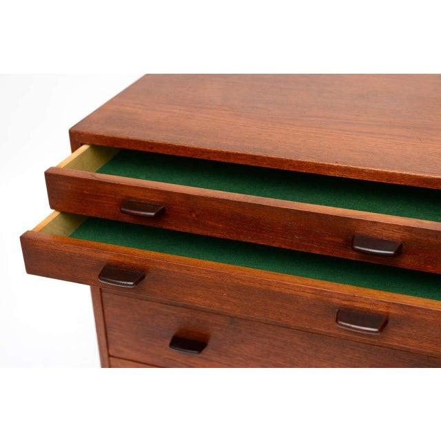 1950s Hans Wegner Mid Century Modern Teak Dresser for Ry Mobler/George Tanier - Image 7 of 9