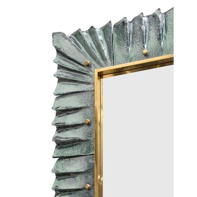 Murano Glass Aqua Mirrors For Sale - Image 4 of 10