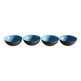 Set/4 Krenit Bowlss by Herbert Krenchel for Torben Örskov & Co, Denmark For Sale