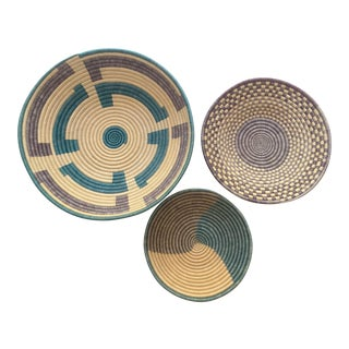 African Baskets - Set of 3