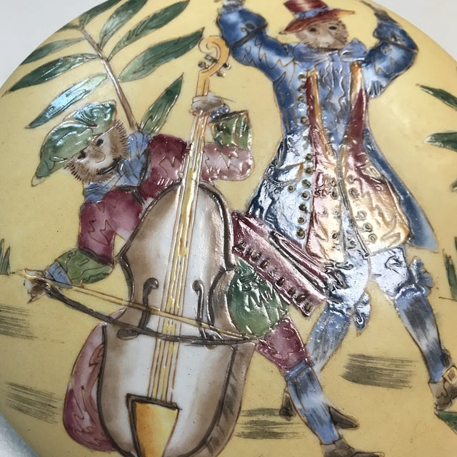 Ceramic Vintage Oklahoma Importing Co. Porcelain Bowl With Lid For Sale - Image 7 of 7