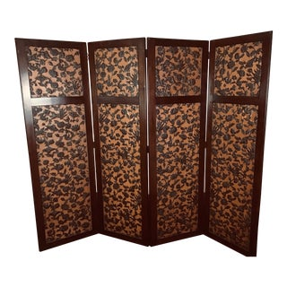 Arts and Crafts Style Dressing Screen For Sale