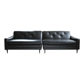 Mid-Century Milo Baughman 2 Piece Sectional For Sale