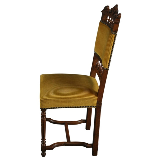 Antique French Dining Chairs Henry II - Set of 6 - Image 10 of 10