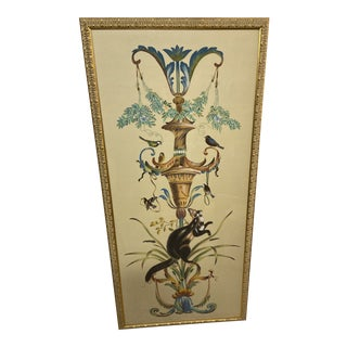 Chelsea House Hand-Painted Borghese Panel For Sale