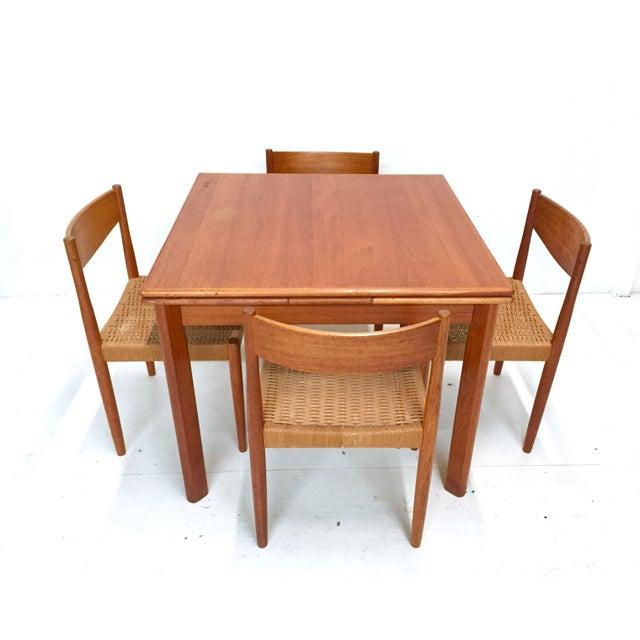1960s Danish Mid-Century Modern Teak Dining Set - Image 3 of 11