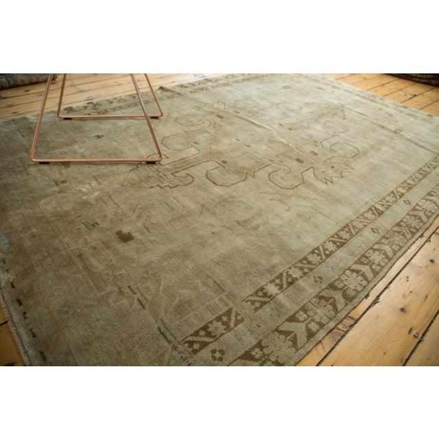 "Vintage Oushak Carpet - 5'8"" X 8'3"" - Image 7 of 10"