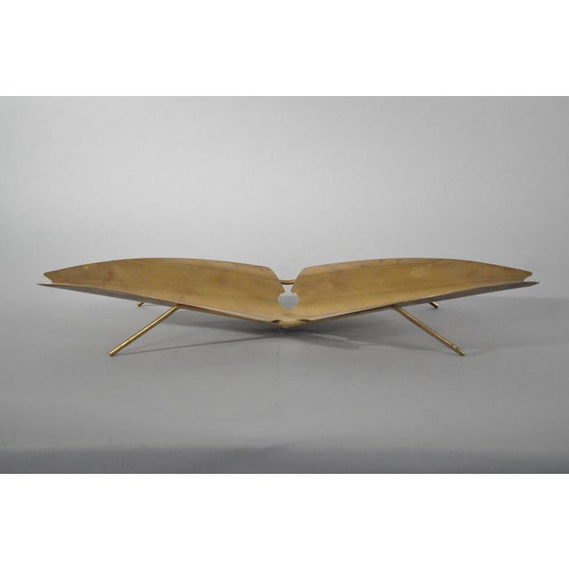 Brass Tray Designed by Kupetz for Wmf For Sale In New York - Image 6 of 6
