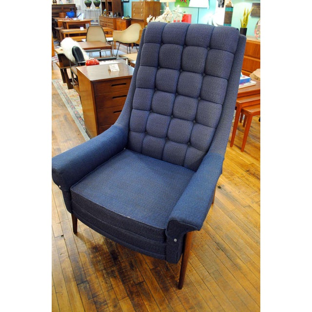 Mid Century Modern Kroehler 'Avant' Lounge Chair - 1950's For Sale - Image 11 of 13