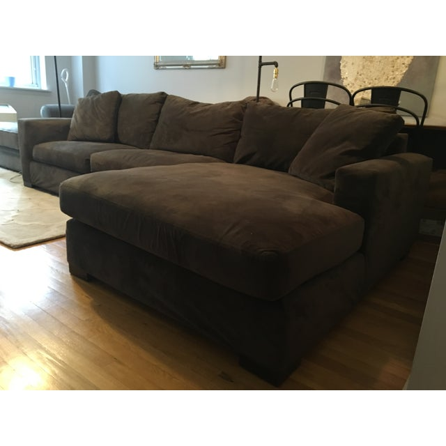 Incredible Brown Room Board Metro Sectional Sofa And Chaise Pabps2019 Chair Design Images Pabps2019Com